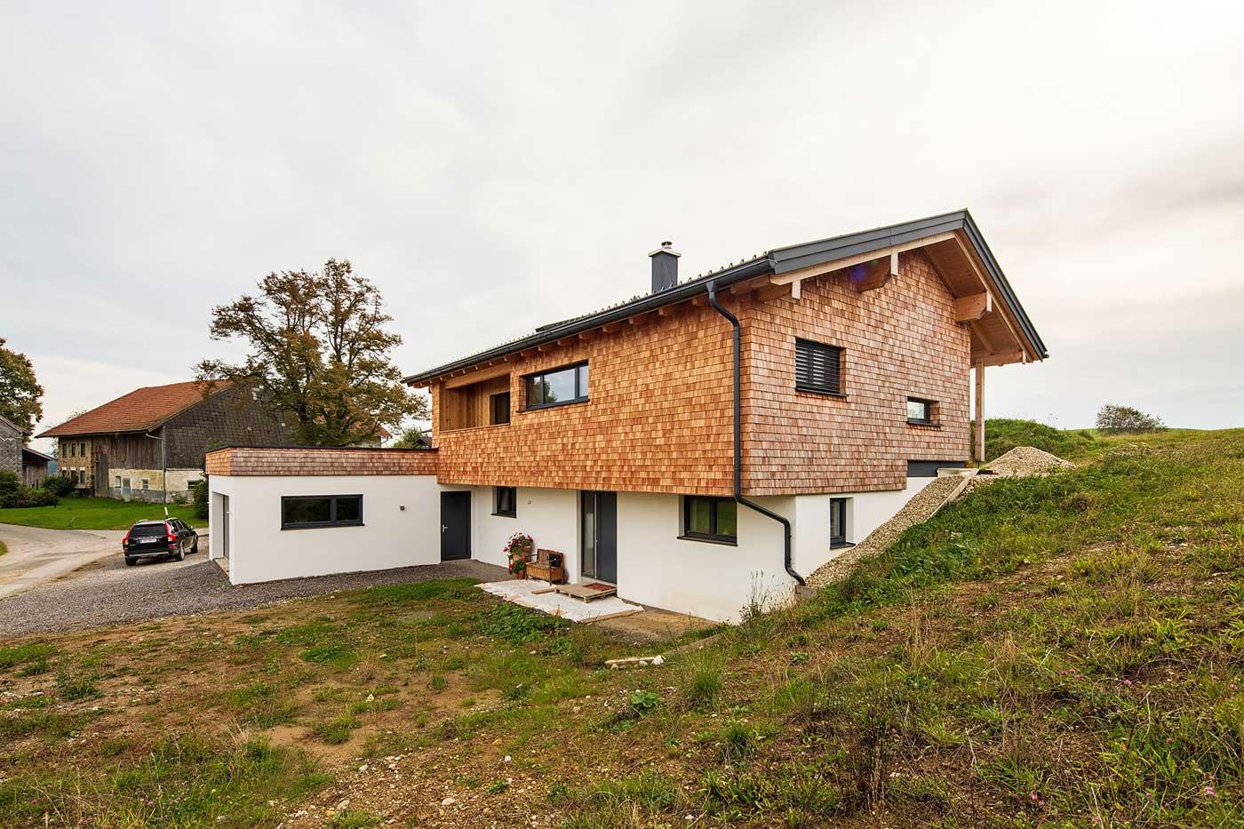 Wohnhaus Berndorf neu
