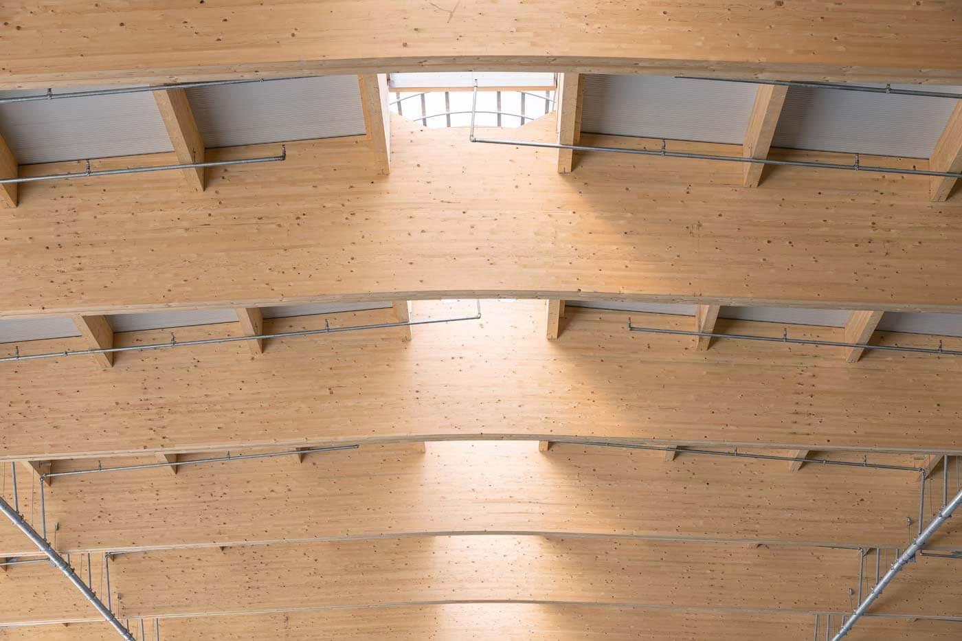 VM Holz Dachkonstruktion